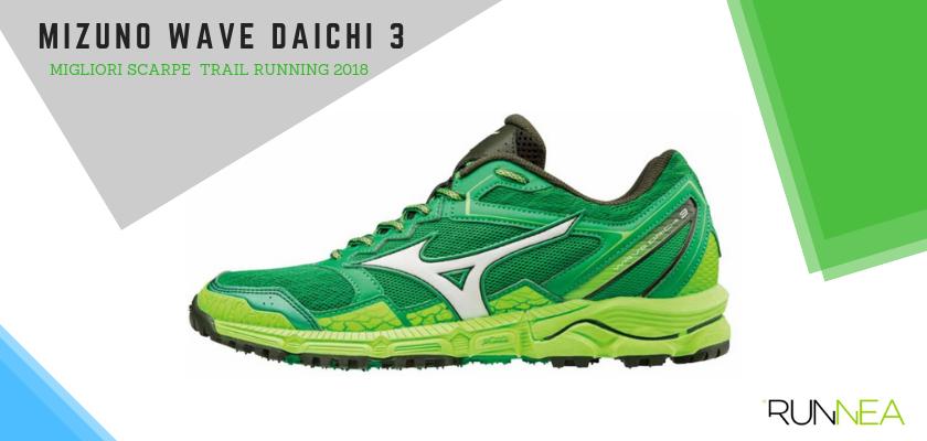 Le migliori scarpe da trail running 2018, Mizuno Daichi 3