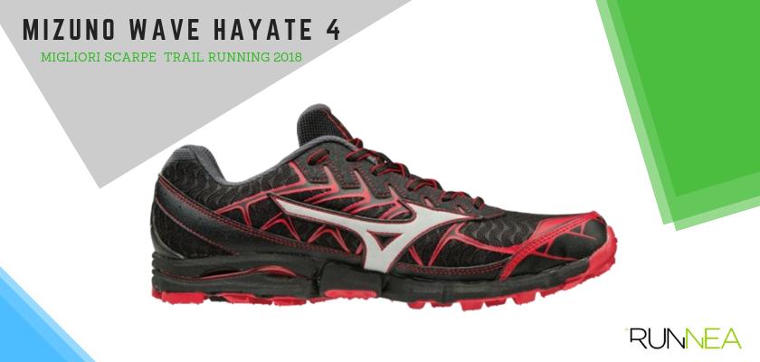 Le migliori scarpe da trail running 2018, Mizuno Wave Hayate 4