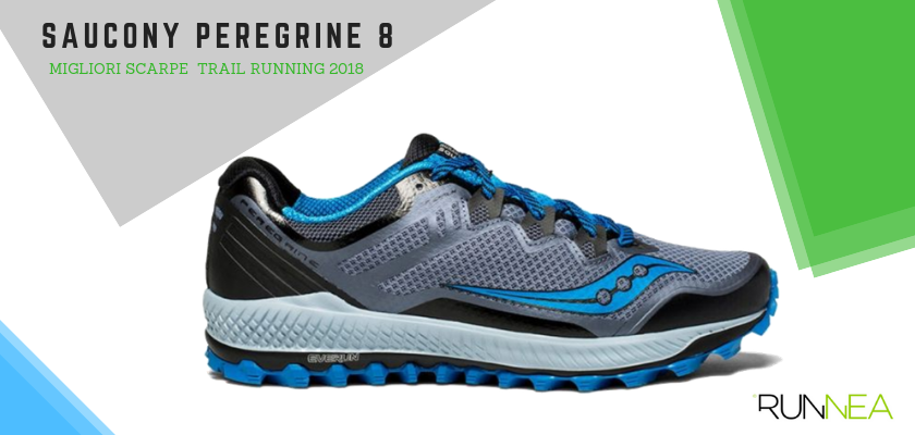 Le migliori scarpe da trail running 2018, Saucony Peregrine 8