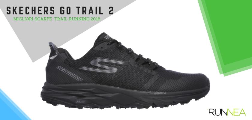Le migliori scarpe da trail running 2018, Skechers Go Trail 2