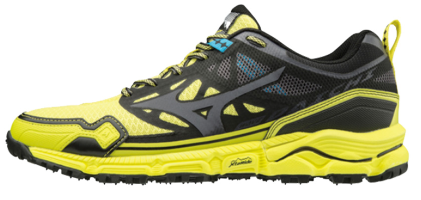 Mizuno Wave Daichi 4 Yellow Black Giallo | Scarpe Running