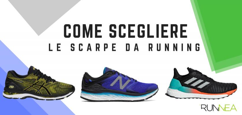 marchio popolare alta qualità scarpe di separazione Scarpe running: sapere come sceglierle
