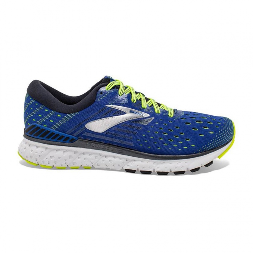 Brooks Transcend 6, azurri