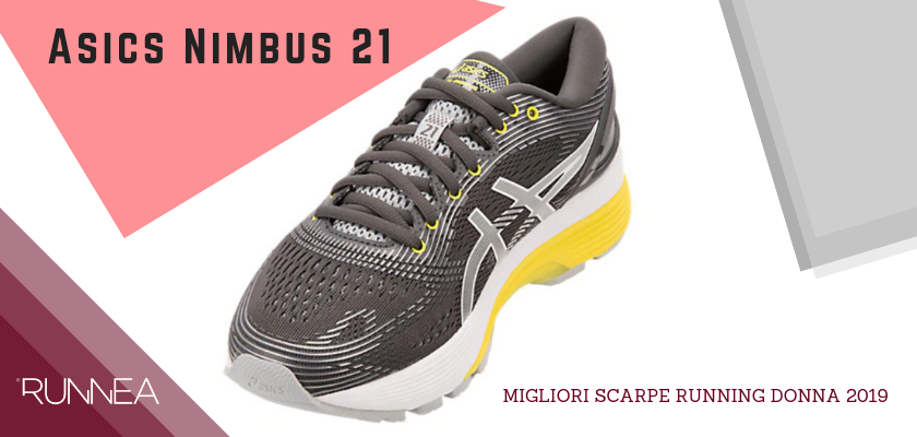 Migliori scarpe da running donna 2019, Asics Nimbus 21