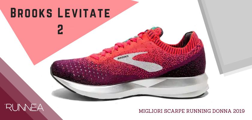 Migliori scarpe da running donna 2019, Brooks Levitate 2