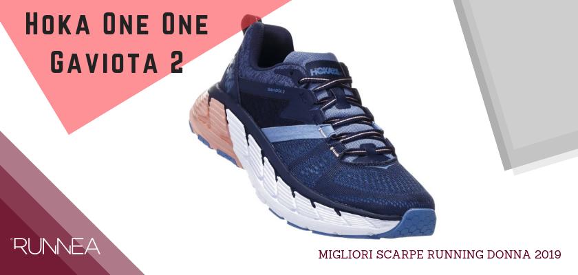 Migliori scarpe da running donna 2019, Hoka One One Gaviota 2