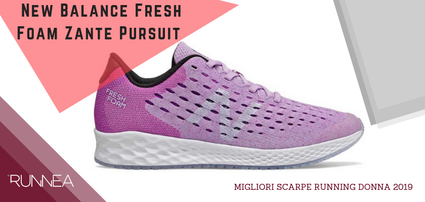 Migliori scarpe da running donna 2019, New Balance Fresh Foam Zante Pursuit