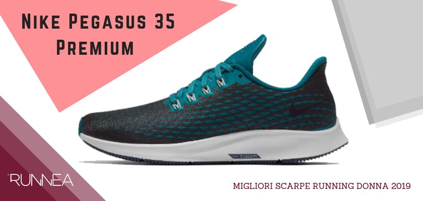 Migliori scarpe da running donna 2019, Nike Pegasus 35 Premium