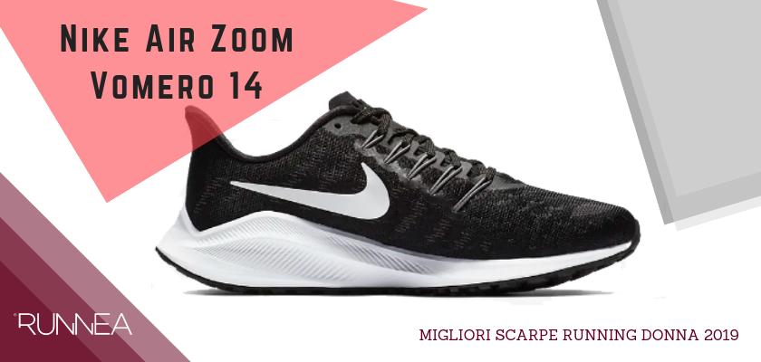 Migliori scarpe da running donna 2019, Nike Air Zoom Vomero 14