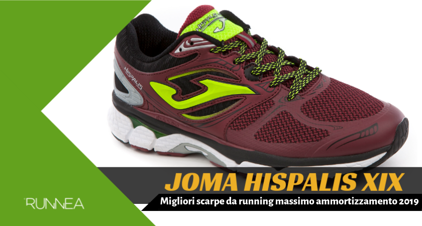 Migliori scarpe da running massimo ammortizzamento 2019, Joma Hispalis XIX
