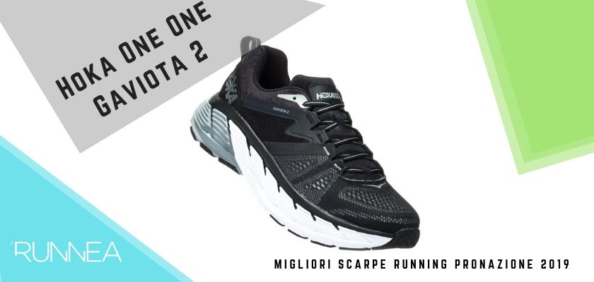 Le migliori scarpe running pronazione 2019, Hoka One One Gaviota 2
