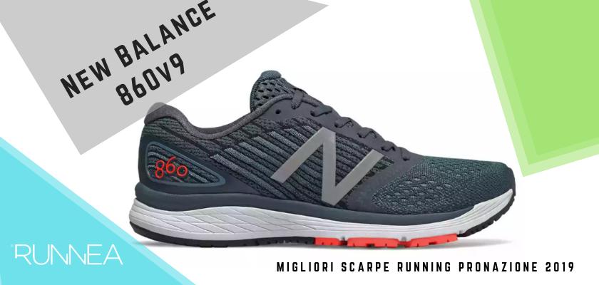 Le migliori scarpe running pronazione 2019, New Balance 860v9