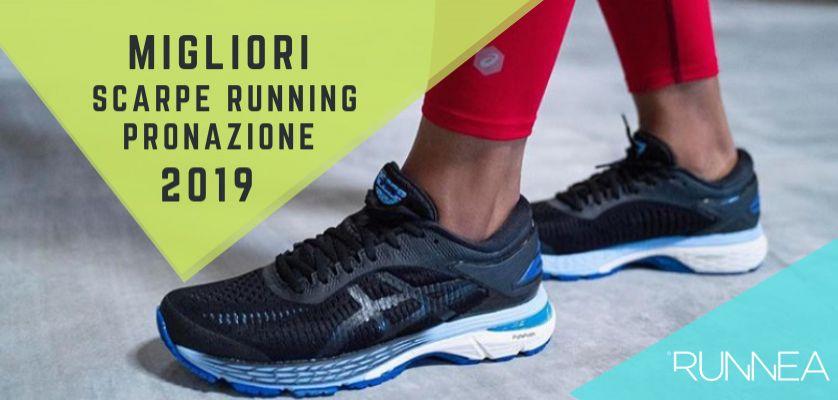 huge selection of 65ef7 380a7 Migliori scarpe running per i pronatori 2019