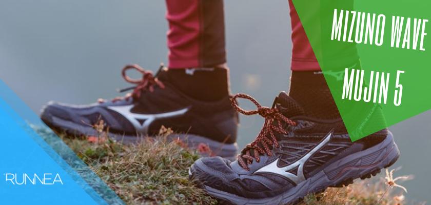 Le novità di Mizuno nelle scarpe da trail 2019, Mizuno Wave Mujin 5