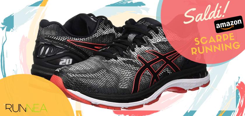 Sconti scarpe da running Amazon 2019: le migliori offerte Asics