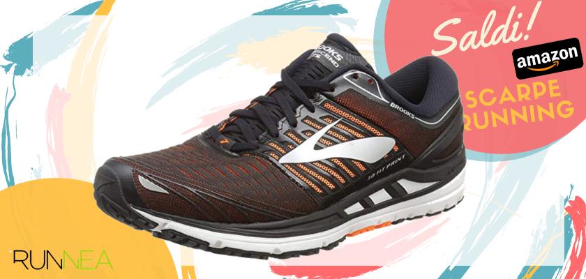 Sconti scarpe da running Amazon 2019: le migliori offerte Brooks