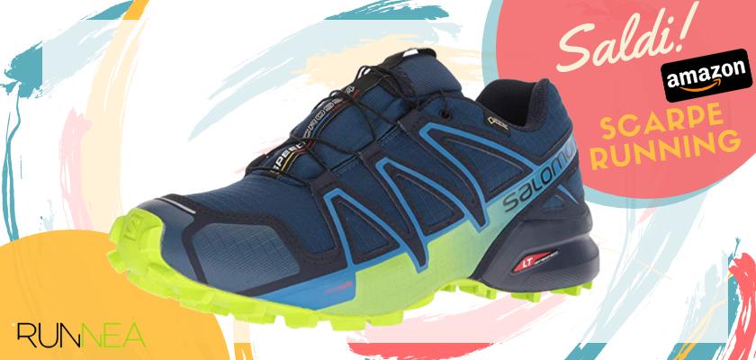 Sconti scarpe da running Amazon 2019: le migliori offerte Salomon