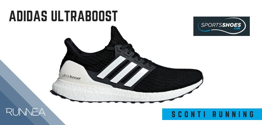 Sconti scarpe da running SportShoes 2019: le 12 migliori offerte disponibili, Adidas Ultraboost