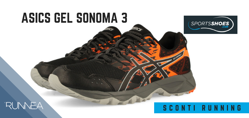 Sconti scarpe da running SportShoes 2019: le 12 migliori offerte disponibili, Asics Gel Sonoma 3
