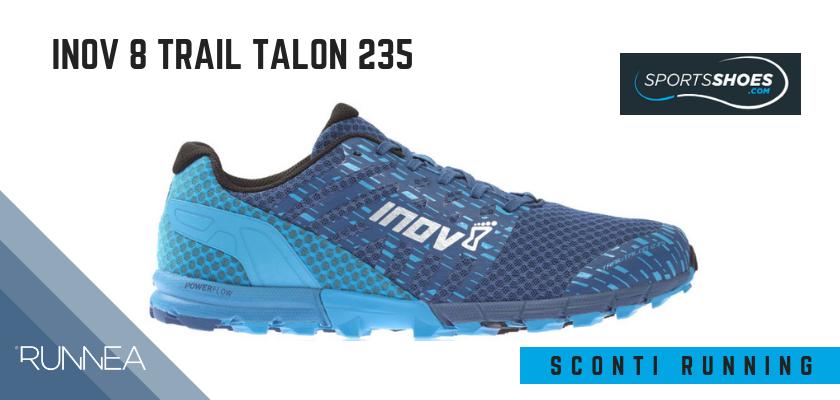 Sconti scarpe da running SportShoes 2019: le 12 migliori offerte disponibili, Inov 8 Trail Talon 235