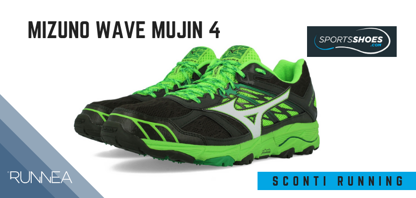 Sconti scarpe da running SportShoes 2019: le 12 migliori offerte disponibili, Mizuno Wave Mujin 4