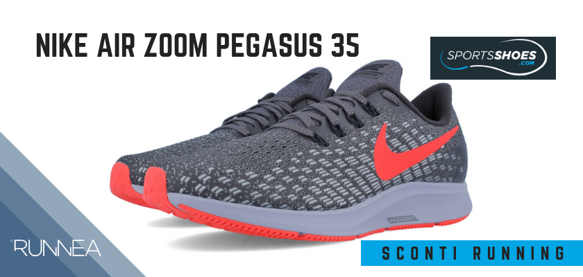 Sconti scarpe da running SportShoes 2019: le 12 migliori offerte disponibili, Nike Air Zoom Pegasus 35