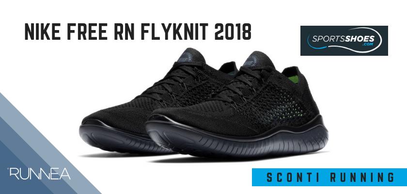 Sconti scarpe da running SportShoes 2019: le 12 migliori offerte disponibili, Nike Free RN Flyknit 2018