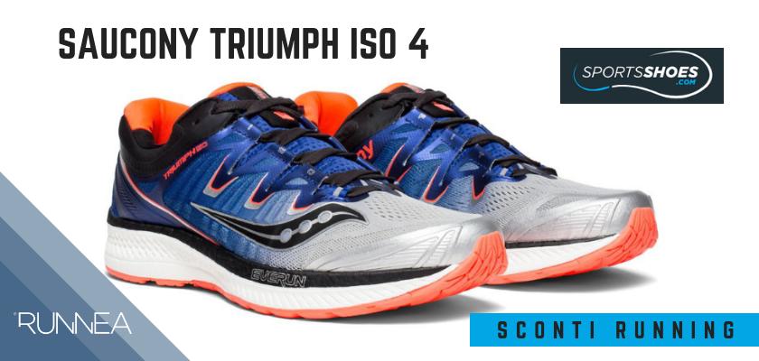 Sconti scarpe da running SportShoes 2019: le 12 migliori offerte disponibili,Saucony Triumph ISO 4