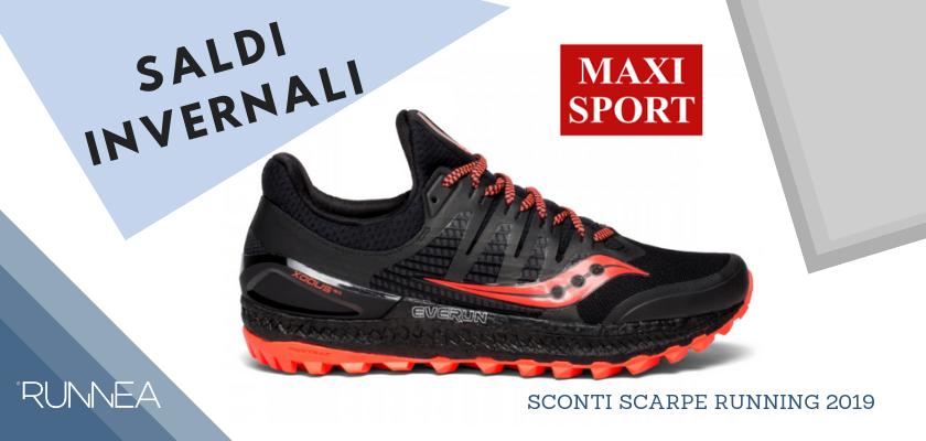 Sconti scarpe running 2019: le migliori offerte sui negozi online, Maxi Sport
