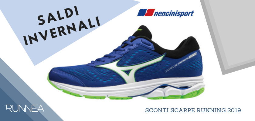 Sconti scarpe running 2019: le migliori offerte sui negozi online, Nencini Sport