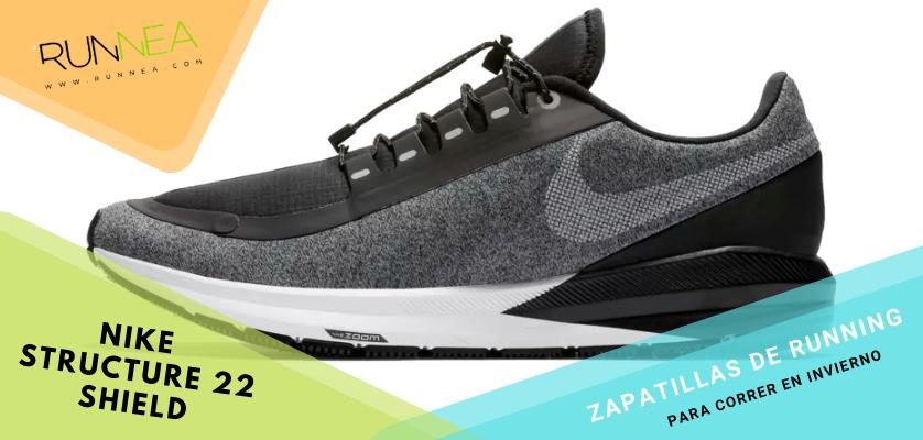 Le migliori scarpe da running per correre in inverno, Nike Air Zoom Structure 22 Shield