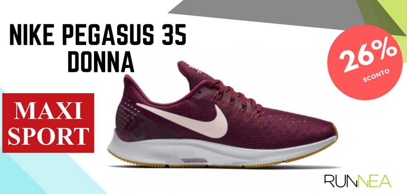 Nike Running in MaxiSport: 8 prezzi migliori su scarpe da corsa, Nike Zoom Pegasus 35