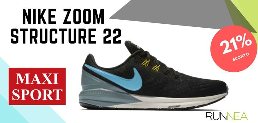 Nike Running in Maxi Sport: 8 prezzi migliori su scarpe da corsa,  Nike Zoom Structure 22