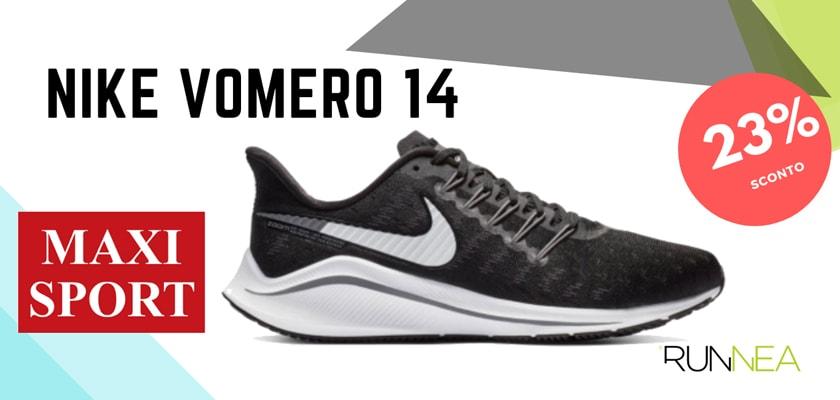 Nike Running in MaxiSport: 8 prezzi migliori su scarpe da corsa, Nike Vomero 14