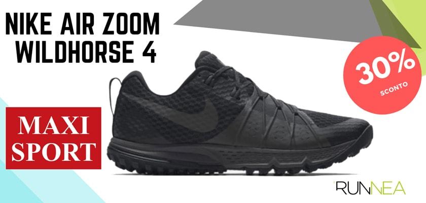 Nike Running in Maxi Sport: 8 prezzi migliori su scarpe da corsa, Nike Air Zoom Wildhorse 4