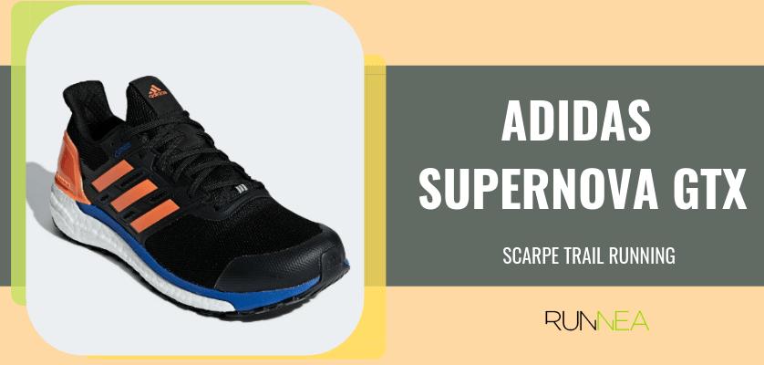 Le 8 migliori scarpe da trail running di Adidas, Adidas Supernova Gore-Tex