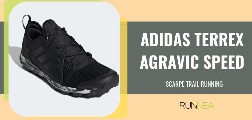 Le 8 migliori scarpe da trail running di Adidas, Adidas Terrex Agravic Speed
