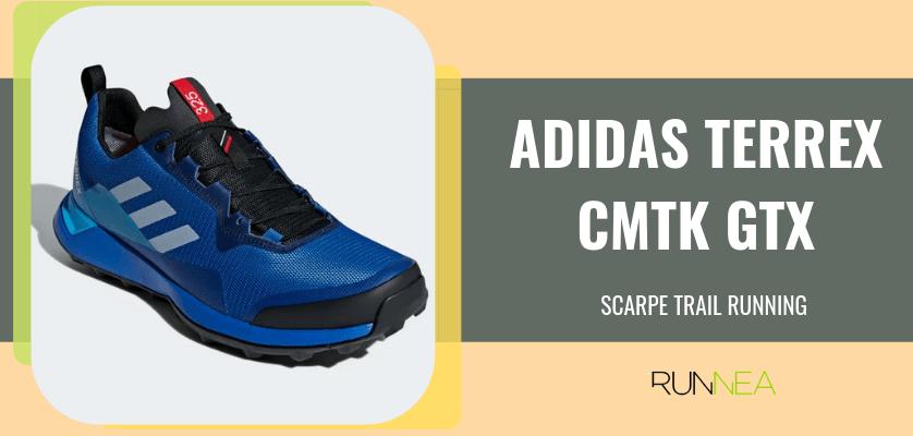 Le 8 migliori scarpe da trail running di Adidas, Adidas Terrex CMTK GTX