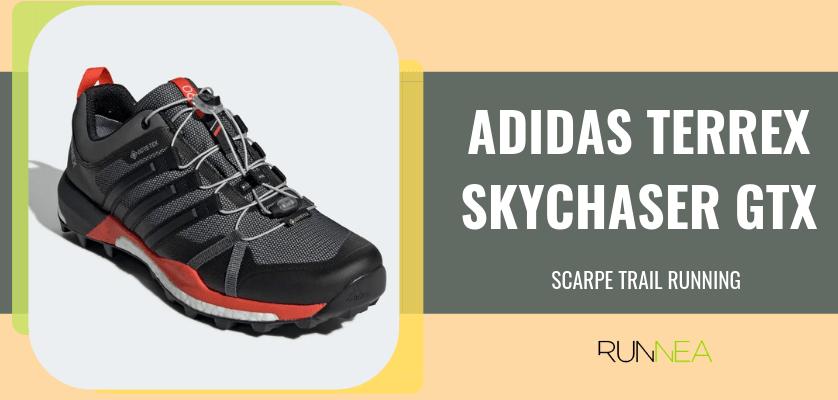 Le 8 migliori scarpe da trail running di Adidas, Adidas Terrex Skychaser GTX
