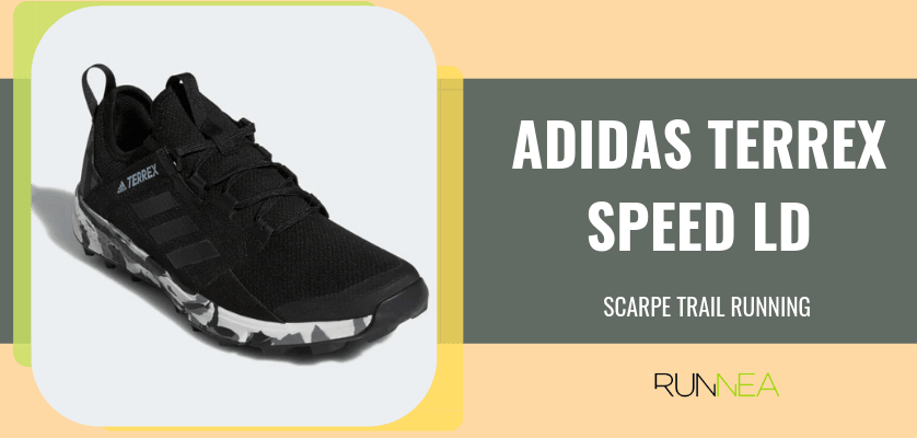 Le 8 migliori scarpe da trail running di Adidas, Adidas Terrex Speed LD