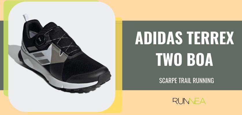 Le 8 migliori scarpe da trail running di Adidas, Adidas Terrex Two BOA