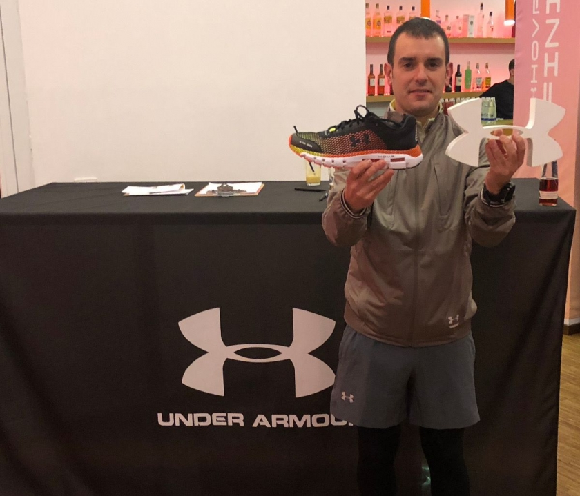 Under Armour Hovr Infinite, una scarpa che misura i chilometri che corri