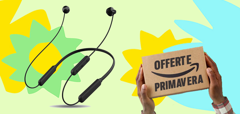 Le Offerte di primavera di Amazon, Netspower Cuffie Magnetiche