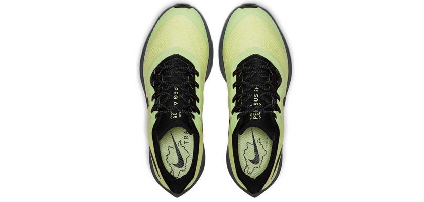 Nike Pegasus 36 Trail, upper