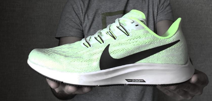Nike Pegasus 36 versus Nike Pegasus 35