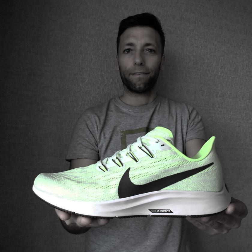 Nike Pegasus 36, Gorka