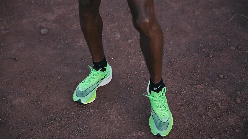 Nike ZoomX Vaporfly Next%, ridisegno upper