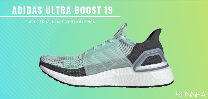 Le migliori scarpe da triathlon 2019 per battere tutti i tuoi record personali, Adidas Ultra Boost 19