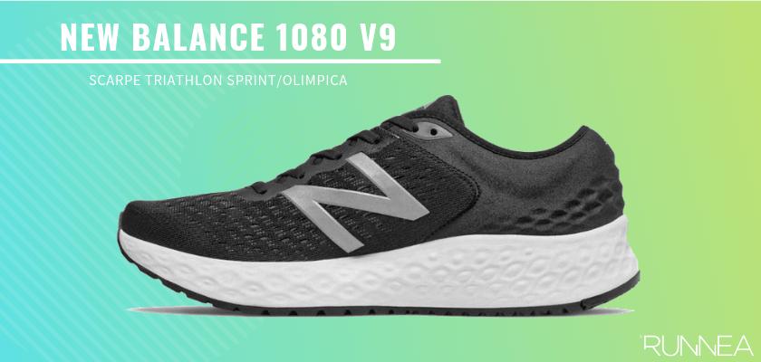 Le migliori scarpe da triathlon 2019 per battere tutti i tuoi record personali, New Balance 1080 v9
