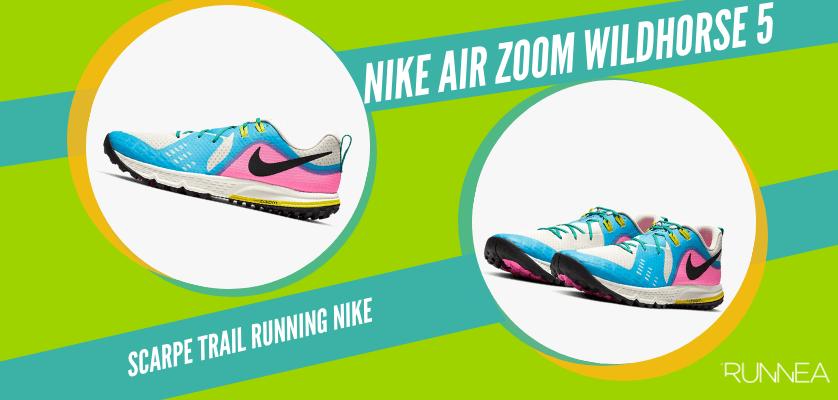 Collezione trail running Nike Air Zoom Wildhorse 5